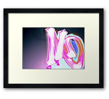Do you Agree? Framed Print