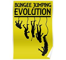 BUNGEE JUMPING EVOLUTION Poster