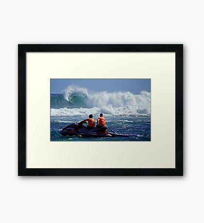 Michel Bourez Framed Print