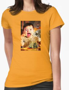 Baby John And His Magic Turtle Mitch Womens Fitted T-Shirt