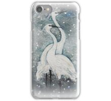 Chilly tonight, isn't it? iPhone Case/Skin