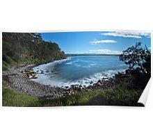 Jones Beach, Mollymook, South Coast NSW Poster