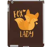 Fox Lady iPad Case/Skin
