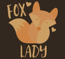Fox Lady by jazzydevil