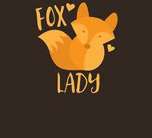 Fox Lady Womens Fitted T-Shirt