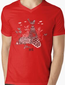 Queen Bee Follow Me Mens V-Neck T-Shirt