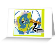 KILL the DUCK....(OR the FORMAT) Greeting Card