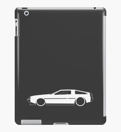 DeLorean DMC-12 iPad Case/Skin