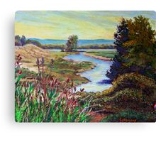 Oak Island Road Canvas Print