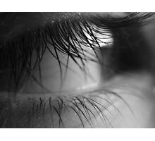 Lanis eye in black N white Photographic Print
