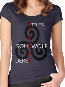 Sterek-Black Women's Fitted Scoop T-Shirt