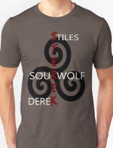 Sterek-Black Unisex T-Shirt