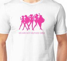 We Are Not Helpless Girls (Sailor Moon) Unisex T-Shirt
