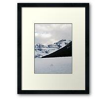 Lake of Ice Framed Print