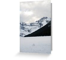 Lake of Ice Greeting Card