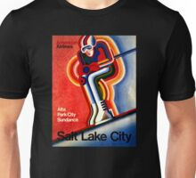 Salt Lake City Vintage Travel Poster Unisex T-Shirt