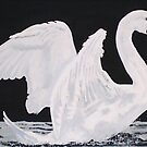 Swan Rising by David Phillips