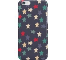 Blue grey stars iPhone Case/Skin