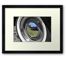 The Center Of Colour Framed Print