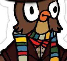 Doctor Hoo Sticker
