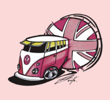 British Splitty, Pink by Richard Yeomans