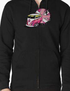 British Splitty, Pink T-Shirt