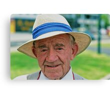 Man In The Hat Canvas Print