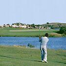 Golfing Legends : Peter Thompson - Australian Open Golf, The Lakes, Sydney, 1964 by Adrian Paul