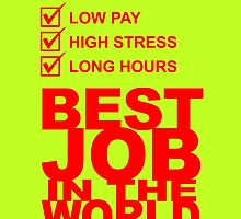 TAX CONSULTANT BEST JOB IN THE WORLD by fancytees
