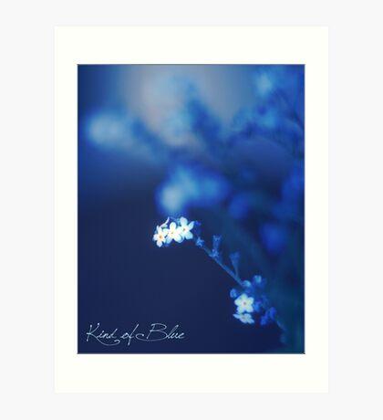 Kind of Blue Art Print