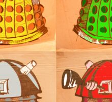 Warhol Dalek's Sticker