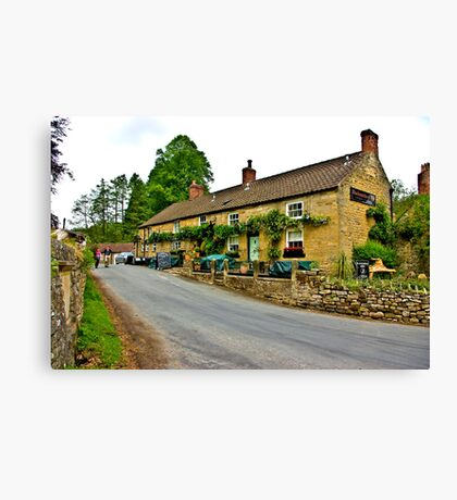 Blacksmiths Arms - Lastingham Canvas Print