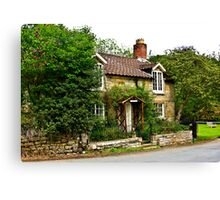 Country Cottage - Lastingham Canvas Print