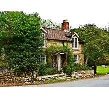 Country Cottage - Lastingham Photographic Print