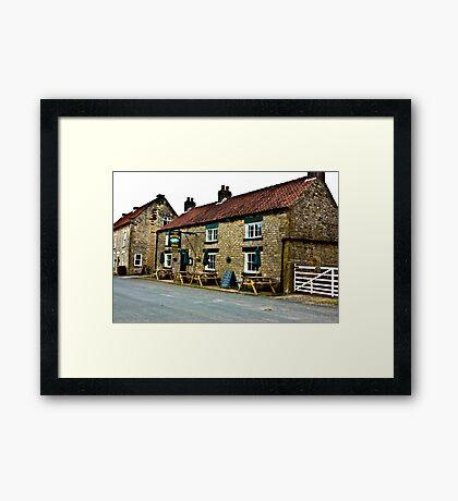 The Moors Inn  -  Appleton-le-Moors  Framed Print