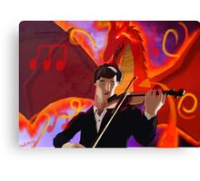 Musical Summons Canvas Print