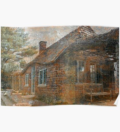 Cottage In The Woods Poster