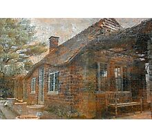 Cottage In The Woods Photographic Print