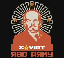 SOVIET RED ARMY LENIN by madeofthoughts