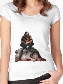 SIC SEMPER TYRANNIS Women's Fitted Scoop T-Shirt