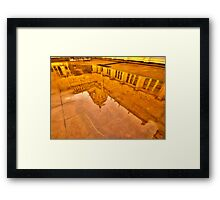 Reflections In Time  - Royal Exhibition Building, Melbourne - The HDR Experience Framed Print