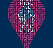 This is where you start getting into the realms of the unknown by zula