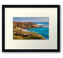 Ericeira  surf  paradise Framed Print