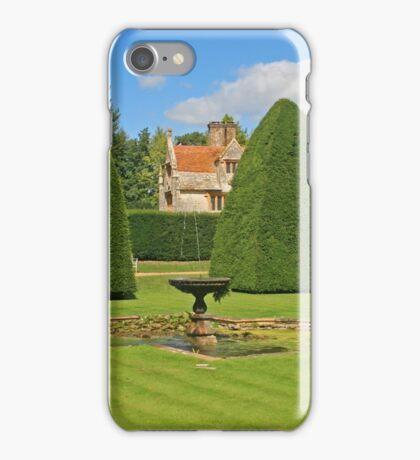 Great Court Garden, Athelhampton iPhone Case/Skin