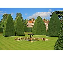 Great Court Garden, Athelhampton Photographic Print