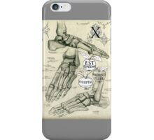 The anatomy of  thoughts 1 iPhone Case/Skin