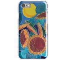 Moonlit Sunflowers iPhone Case/Skin