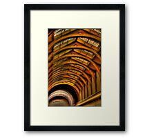 Arch Enemies - Old Melbourne Gaol, Melbourne - The HDR Experience Framed Print