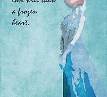 Frozen inspired design (Elsa). by topshelf