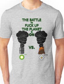 Man vs. Nature Unisex T-Shirt